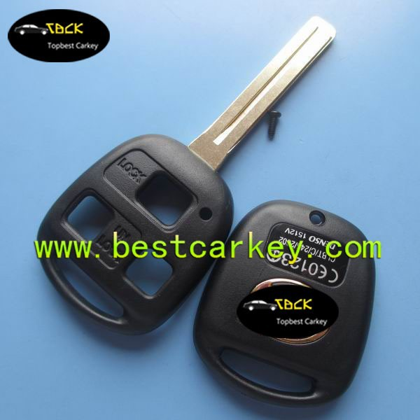 Topbest 3 button remote key shell for lexus key shell replacement with TOY40 blade(China (Mainland))