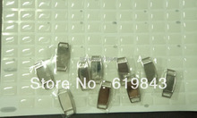 100 Free shipping 2014 Blank Rectangle Shoelace charms shoe thingz & Paracord Charms with Epoxy Sticke(China (Mainland))
