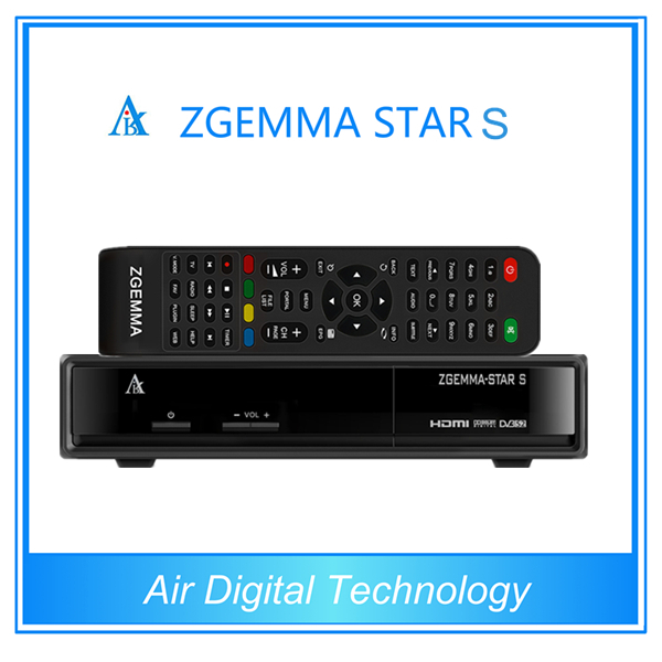 For 2pc 2015 newest product zgemma-star S iptv satellite receiver dvb-s2 tuners set top box(China (Mainland))