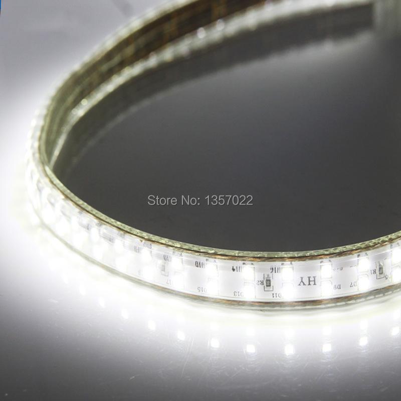 3960LM/m 120V 220V 240V 100M/roll 18W/m SMD2835 180LEDs/m Outdoor IP67 Indoor Double Row LED Flexible Strip Light Ribbon(China (Mainland))