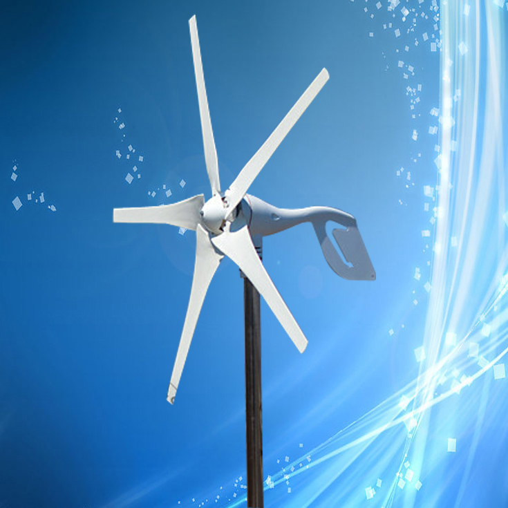 Direct Factory Price 300W 12V Wind Generator with 5Blades. 2.5M/S Start Wind Speed, Best Sales-After Service(China (Mainland))