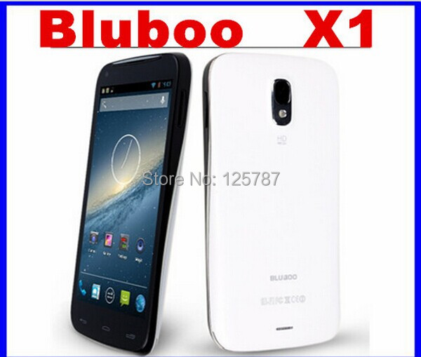 Russian Multi Languages Bluebo Bluboo X1 5 Inch MTK6582 Quad Core Android 4.2 IPS 960X540 1GB/4GB 8MP Dual Sim 3G Smart Phone(China (Mainland))