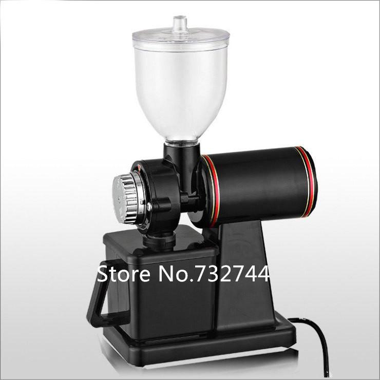 Manual Coffee Maker N1 : DHL/Fedex Electric Professional manual burr coffee grinder coffee mill machine maker 600N bean ...