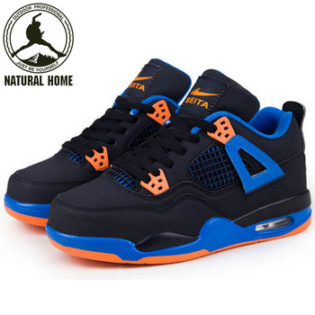 NaturalHome Mens Basketball Shoes Spring Autumn Sport Boots Men Sneakers Outdoor/Indoor Basketball Training Shoes