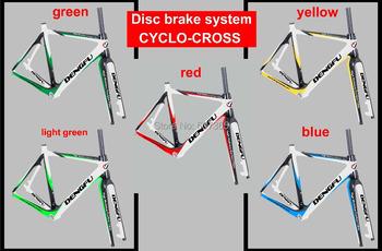 Full carbon cyclo cross bike frame , new cyclo cross carbon frame ,dics carbon cyclo cross frame FM059