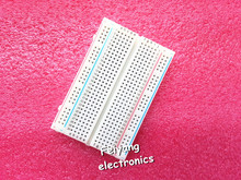 Free Shipping! 1pc Quality mini bread board / breadboard 8.5CM x 5.5CM 400 holes