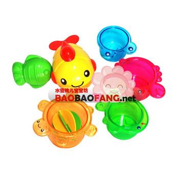 Baby toy ocean animal shower set 463505