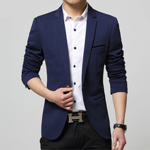 2015 Summer Style Luxury Business Casual Suit Men Blazers Formal Wedding Dress Jackets Brand Design Plus Size M-4XL 13M0276(China (Mainland))