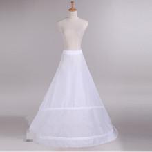 Buy saiote para vestido de noiva train wedding underskirt line petticoats wedding dress bridal crinoline wedding accessories for $19.80 in AliExpress store