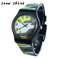 snowshine 30 Camouflage Children Watch Quartz Wristwatch For Girls Boy free shipping