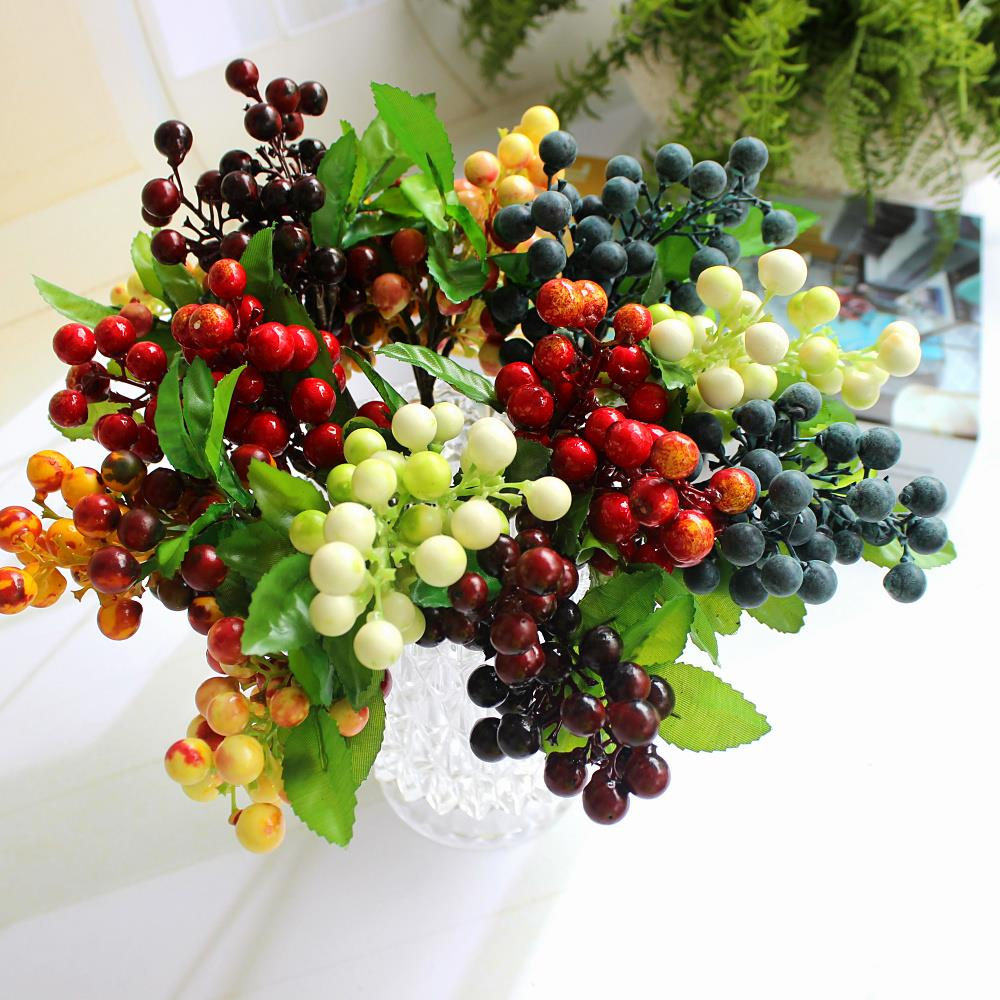 Wedding decorations top fashion 2015 new arrival for Artificial fruit for decoration