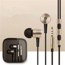 1PCS Hot Sale Original Headphones Piston Simple Edition Earphones with Mic Headphones For XiaoMi mi 2 3 4 Redmi Free Shipping