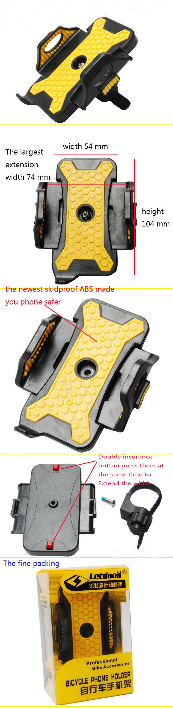 2015 новых Велоспорт велосипед велосипед мобильного телефона держателя велосипед велосипед ручка Телефон сотовый телефон поддержки для iphone 6 5s 5 телефон случае