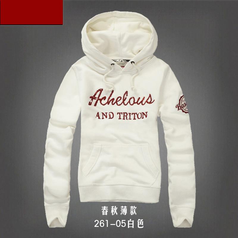Discount fashion women's hoodie jacket coat thin 100% cotton brand spring abercom afs hollistic women hoodie jacket