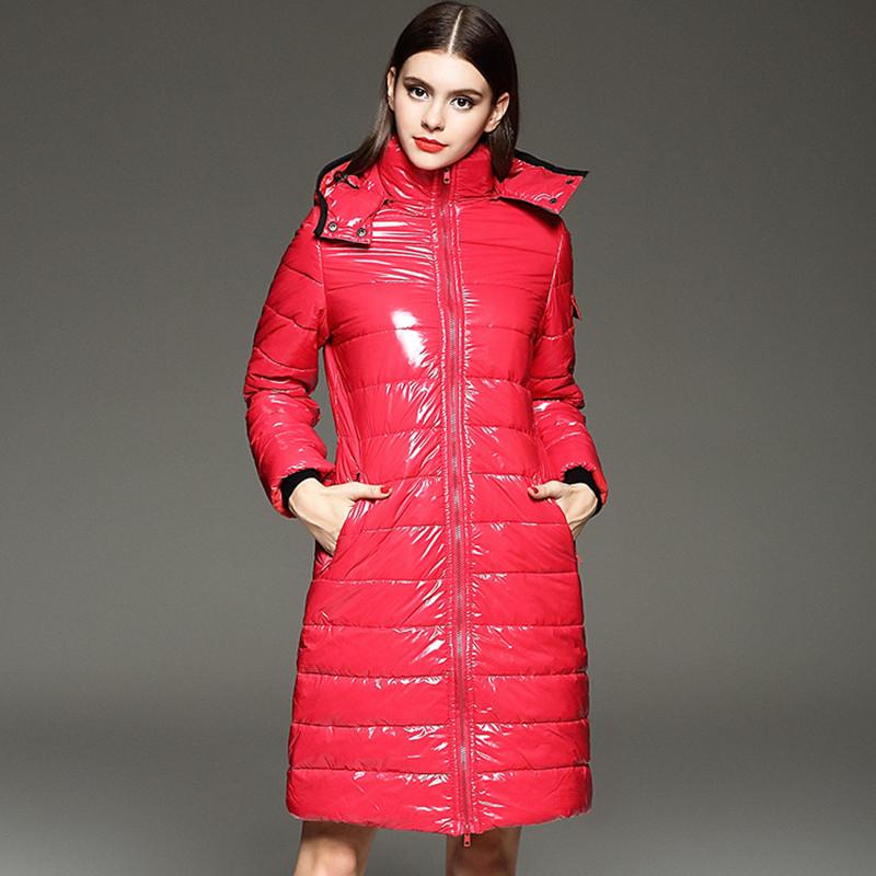New Women's Winter Coats down Jacket Women Hooded Down Coats Female Slim Long Parkas Down Thick Warm Winter Jackets JF0003(China (Mainland))
