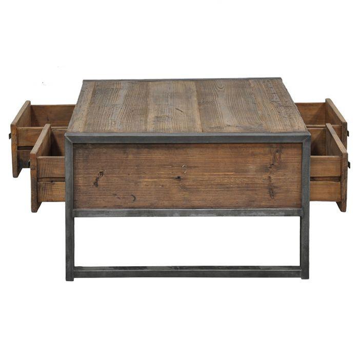 American Loft Do The Old Wrought Iron Wood Coffee Table Coffee Table A Few Square Parlor Side
