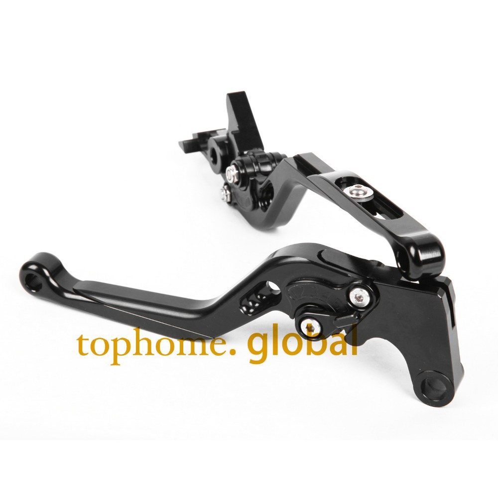 Black Motorbike Accessories CNC Foldable&amp;Extendable Brake Clutch Levers For Kawasaki VERSYS 1000 2012-2014 2013<br><br>Aliexpress