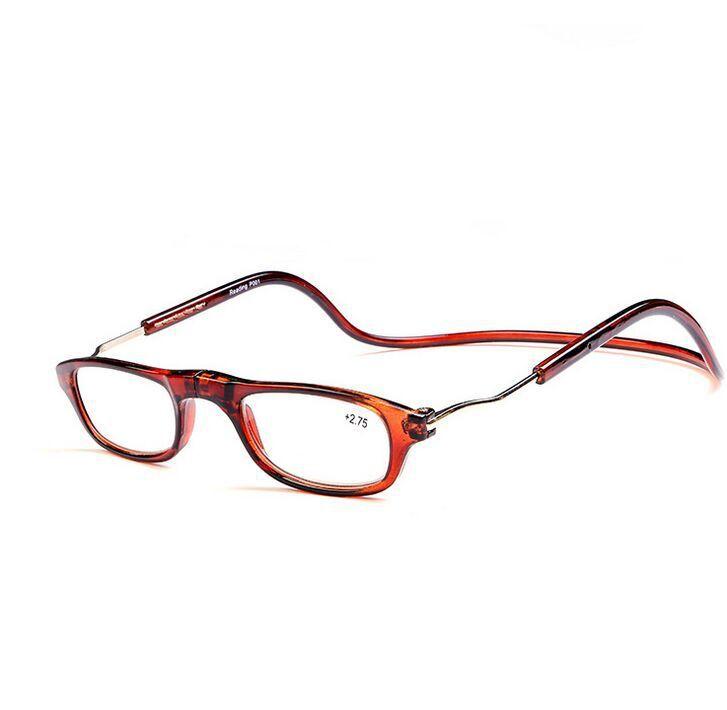 2015 fashion folding magnets magnifying reading glasses