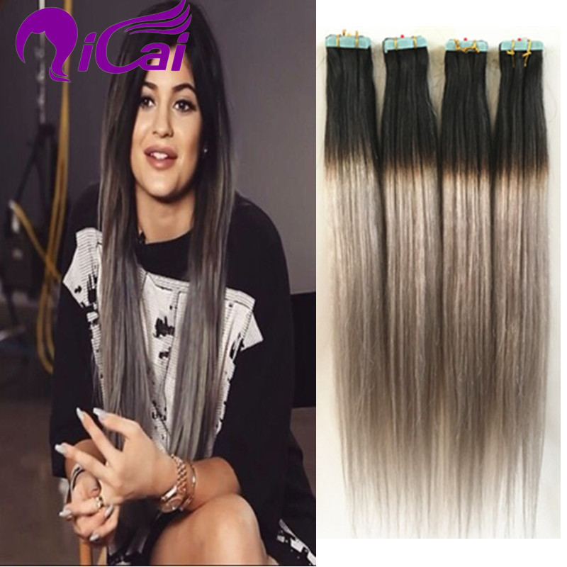 Tape In Hair Extensions Ombre Gallery Hair Extensions For Short Hair