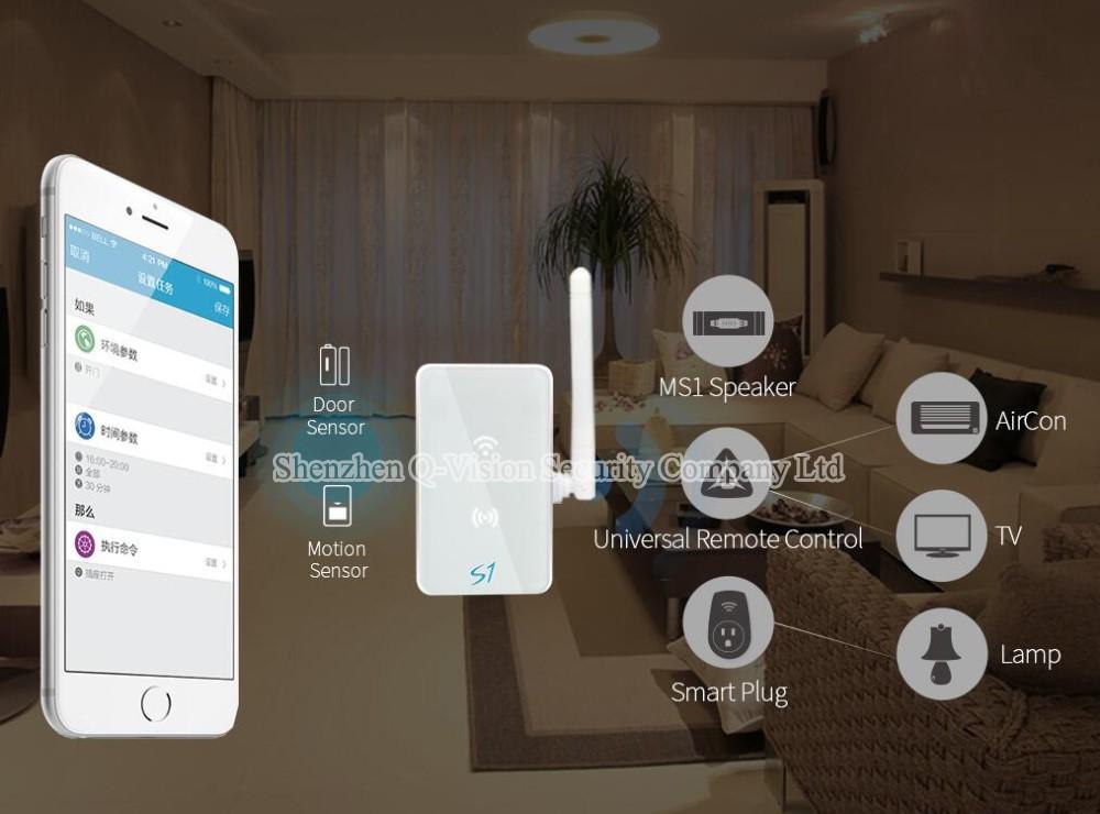 image for Broadlink S1C Smart Home Kit 433MHZ S1 Smartone Door Sensor Motion Det