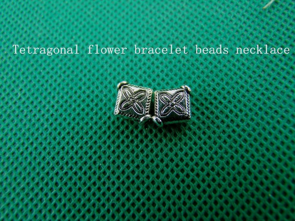 free shipping 2015 square metal pendant bead insulation