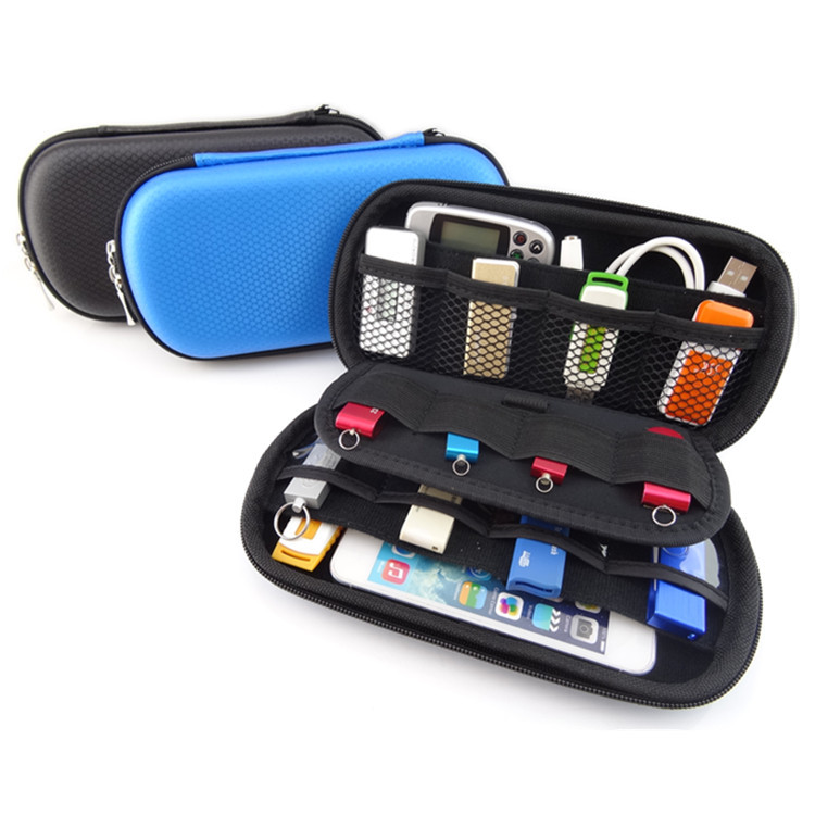 2016 Mini Digital Products Pouch Travel Storage Bag for USB Flash Drive, Health USB Key, SD Memory Card Case, Phone, Bank Card(China (Mainland))