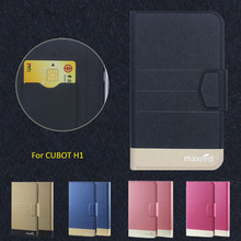 2016 Super! CUBOT H1 Cases,5 Colors Factory Direct High quality Luxury Ultra-thin Leather for CUBOT H1 Case Phone Accessories