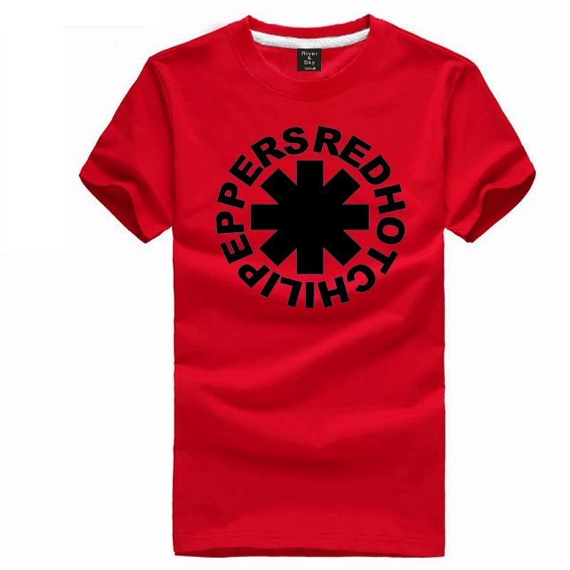 Red Hot Chili Peppers t shirt punk rock band short sleeve t-shirt rhcp tee shirt(China (Mainland))