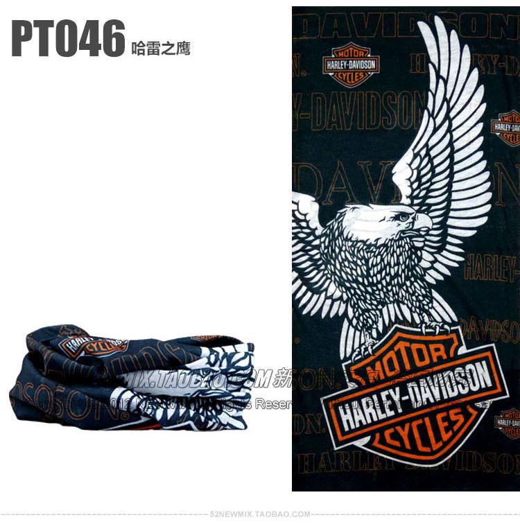 1pc/lot Wholesale Davison Design Multi Bandana Skull Motorcycle Biker Face Mask Neck Scarf Skull Bandana Harley Free Shipping(China (Mainland))