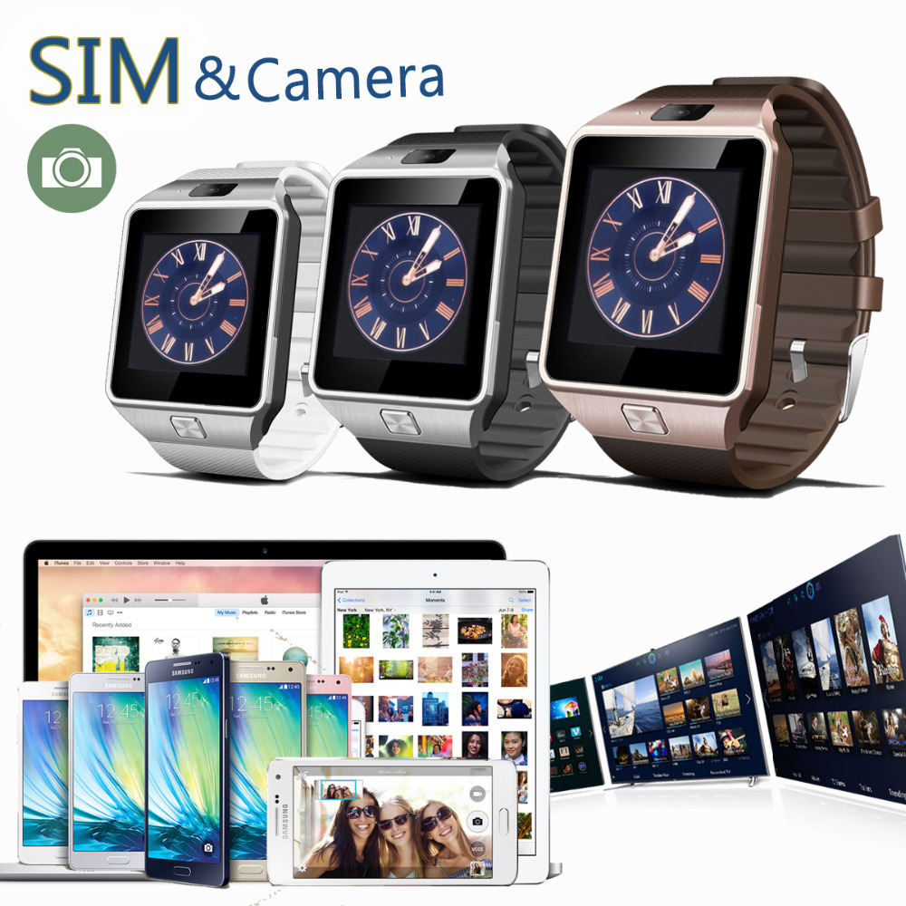 FREE SHIPPING 2015 Newest and suitable for iPhone /5/5S/6 Samsung S4/Note 3 HTC Android Phone cheap smart watches(China (Mainland))