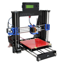Updated Version 3D Printer Diy Machine 8MM Acrylic Frame Reprap Prusa i3 High Precision Imprespra ora Kit 1Kg Filament gifts