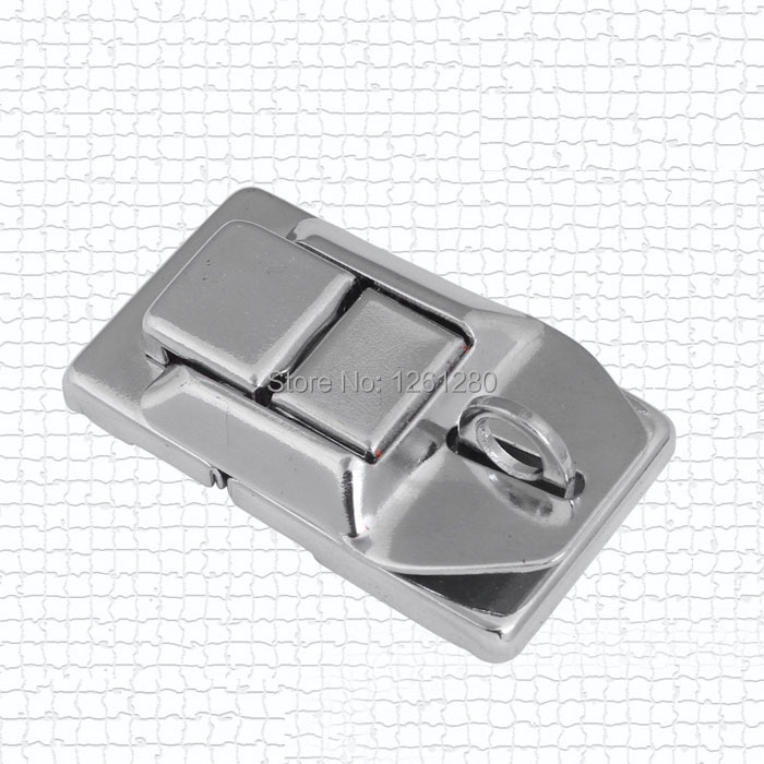 free shipping universal hardware bag accessories iron hasp lock spring latch wooden box buckle air box clasp combination box  <br><br>Aliexpress