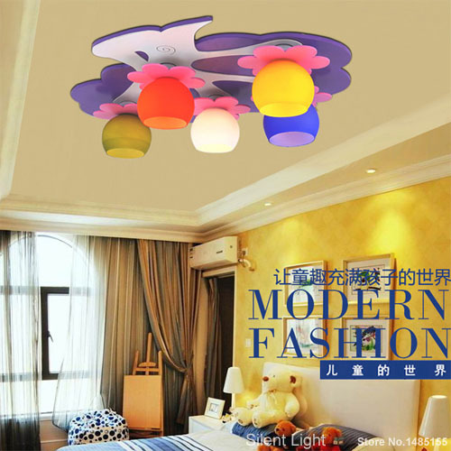Apple ceiling light for kids girls room colorful lamp for Kids ceiling lights for bedroom
