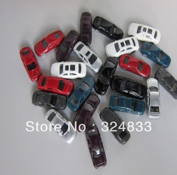 100pcs model car 1/100scale layout model car
