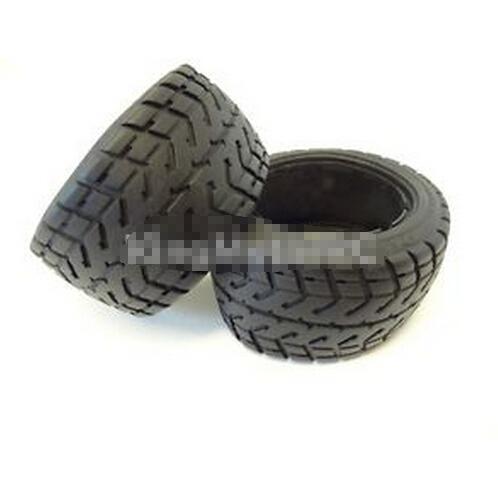 King Motor Rear Road, Street Tires Wheels Fit HPI Baja 5B 2.0 Rovan Desert Buggy(China (Mainland))