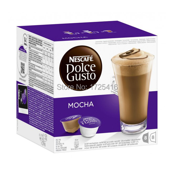 2015 Dolce Gusto coffee capsules of the most popular flavors of mocha flavors free shipping