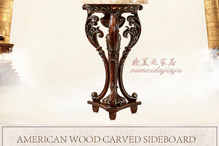European-style solid wood flower. The French flower. The wooden shelf. Sitting room corner. Act the role ofing is tasted