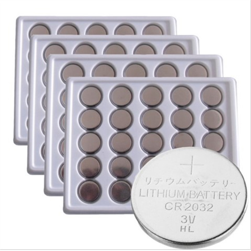 FREE SHIPPING 100Pcs*PKCELL 3V CR2032 Lithium Battery BR2032 DL2032 ECR2032 CR 2032 Button Coin Cell Batteries(China (Mainland))