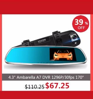 Самое лучшее ambarella А7 LA70 Автомобильный видеорегистратор камеры рекордер GPS Регистратор с разрешением 1080p/60 кадров в секунду 170 град. ночного видения WDR с поляризационным фильтром