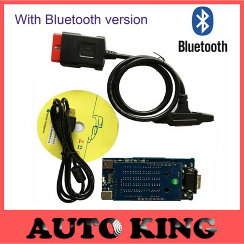 Cool Newest vci 2015.R3 software dvd with bluetooth obd2 OBDII car scanner tcs CDP Pro Plus diagnostic tool For cars and trucks(China (Mainland))