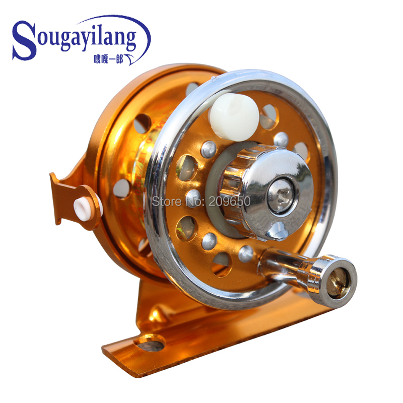 Big discount 3a 1 1 70g metal small ice fishing reel top for Wholesale fishing reels
