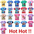 2016 fashion children t shirts baby boys tshirt girls tops and blouses t shirt kids t-shirt clothes cartoon clothing infants tee