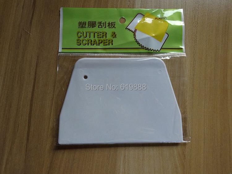 Гаджет  New DIY Medium Baking Scraper Cutter Butter Knife Plastic Cake Dough Scraper Cutter Kitchen Baking Boards Tools None Дом и Сад