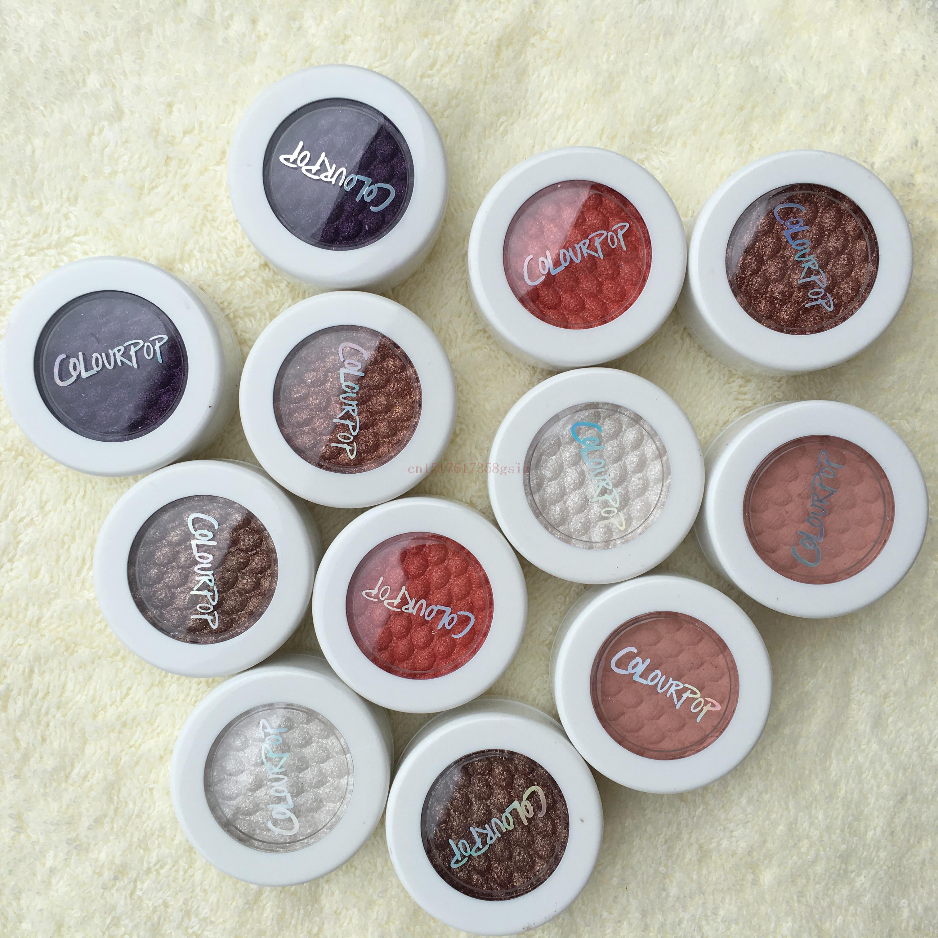 Colourpop Super Shock Shadows 24 Colors COLOURPOP Eye Shadow Long-lasting Waterproof Monochromatic Eyeshadow Makeup Maquillage(China (Mainland))