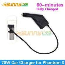 DJI Phantom 3 Автомобильное Зарядное Устройство Зарядное Устройство 17.5 В 4A 70 Вт Выход Зарядное Аксессуар для Phantom 3 Стандартный Расширенный профессиональные