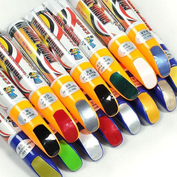 Бесплатная доставка Pro починка автомобиля для удаления скреста ручка краски очистить 59 цветов для выборов оптовая продажа