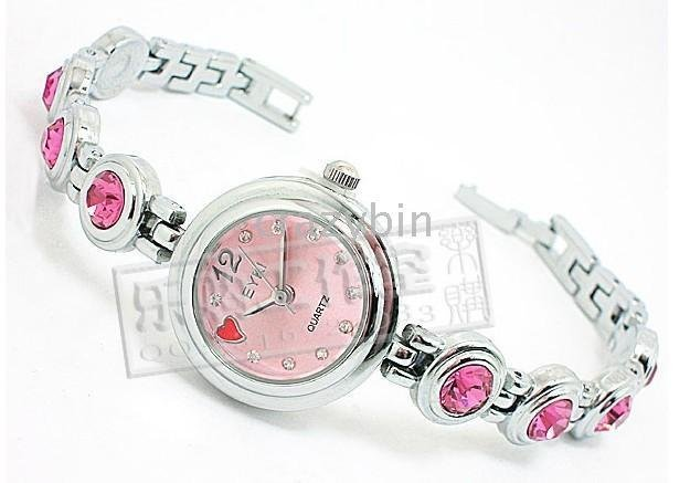 wholesale fashion watch /brand watch crystal bracelet watch - - 10 pcsHot EYKI Yai
