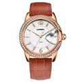 Reloj Mujer 2016 CASIMA Women Watch Top Fashion Brand Female Clock Gold Case Calendar Display Real
