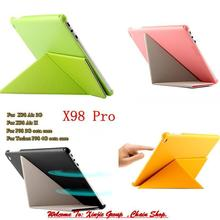 "Teclast P98 3g 4G Octa Core 9.7 "" Tablet PC /  X98 AIR 3G  /  AIR II / X98 Pro PU Leather Transformers Case Protective Cover"