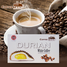 Malaysia coffee town durian white coffee instant cat mountain king cofe Arabica beans Low temperature baking